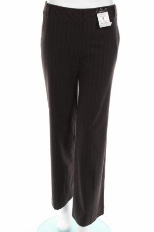 Дамски панталон F&F, Размер S, Цвят Кафяв, 63% полиестер, 32% вискоза, 5% еластан, Цена 7,60лв.