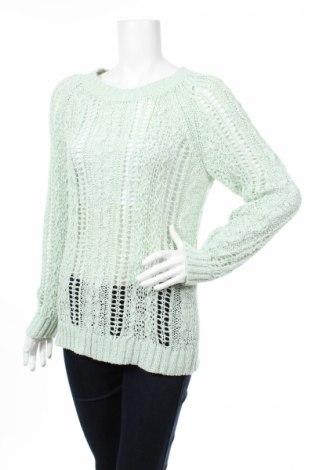 Дамски пуловер Yessica, Размер M, Цвят Зелен, 56% акрил, 44% полиамид, Цена 9,27лв.