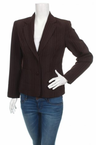 Дамско сако EUFORIS, Размер M, Цвят Кафяв, 100% полиестер, Цена 6,24лв.
