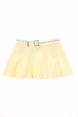 Детска пола George, Размер 14-15y/ 168-170 см, Цвят Жълт, 98% памук, 2% еластан, Цена 4,20лв.