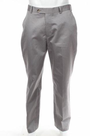 Мъжки панталон Jos.a.bank, Размер L, Цвят Сив, Памук, Цена 19,50лв.