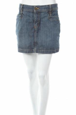Пола H&M, Размер M, Цвят Син, 99% памук, 1% еластан, Цена 31,20лв.