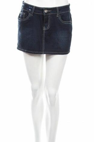 Φούστα Miss Swan, Μέγεθος M, Χρώμα Μπλέ, 95% βαμβάκι, 5% ελαστάνη, Τιμή 2,90€