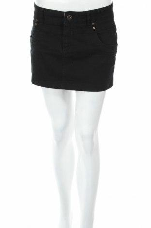 Пола Review, Размер M, Цвят Черен, 98% памук, 2% еластан, Цена 7,18лв.