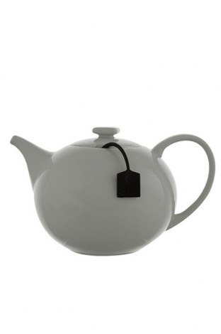 Ceainic Salt & Pepper My tea, Culoare Gri, Porțelan, Preț 148,00 Lei