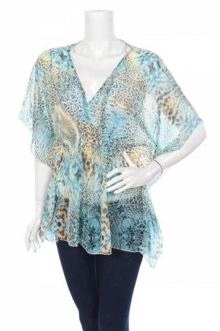 Дамска блуза Amisu, Размер S, Цвят Многоцветен, Полиестер, Цена 4,64лв.