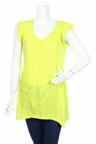 Дамска блуза Clara Vitti, Размер XXL, Цвят Зелен, Цена 4,73лв.