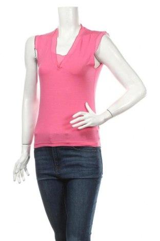 Дамска блуза Gerard Darel, Размер S, Цвят Розов, 93% вискоза, 7% еластан, Цена 7,73лв.