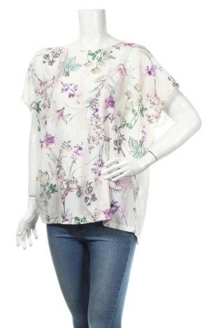Дамска блуза Lc Waikiki, Размер 3XL, Цвят Екрю, Полиестер, вискоза, еластан, Цена 13,39лв.
