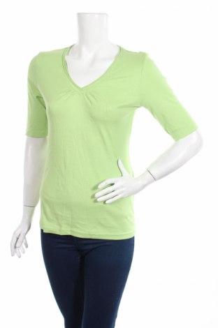 Дамска блуза Mark Adam, Размер L, Цвят Зелен, Памук, Цена 4,73лв.