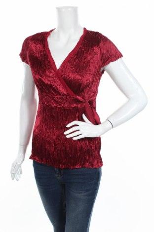 Дамска блуза Marks & Spencer Autograph, Размер L, Цвят Червен, Полиестер, Цена 7,35лв.