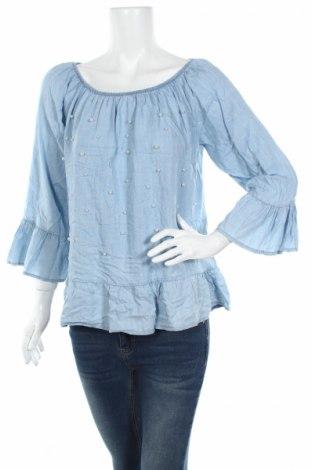 Дамска блуза Quiz, Размер L, Цвят Син, Полиестер, Цена 4,75лв.