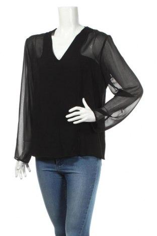 Дамска блуза Un Jour Ailleurs, Размер M, Цвят Черен, Вискоза, Цена 12,00лв.