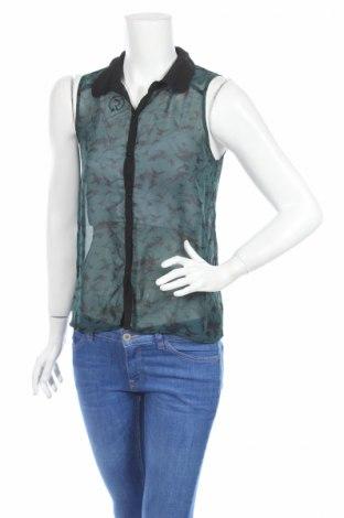 Γυναικείο πουκάμισο, Μέγεθος M, Χρώμα Πράσινο, Τιμή 3,00€