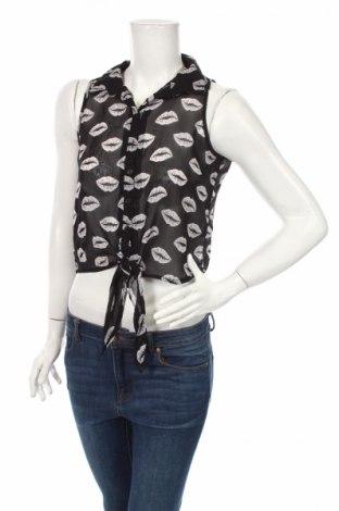 Дамска риза Ann Christine, Размер XS, Цвят Черен, Цена 4,20лв.