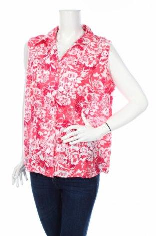 Дамска риза Charles Vogele, Размер XL, Цвят Розов, 60% лен, 40% памук, Цена 3,94лв.