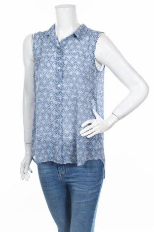Дамска риза H&M, Размер L, Цвят Син, Цена 4,20лв.