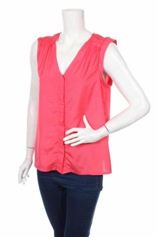 Дамска риза H&M, Размер M, Цвят Червен, Полиестер, Цена 5,60лв.