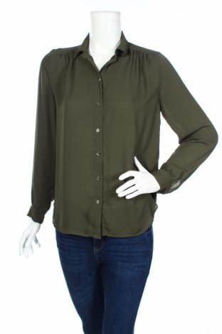 Dámská košile  H&M, Rozměr S, Barva Zelená, Polyester, Cena  115,00Kč