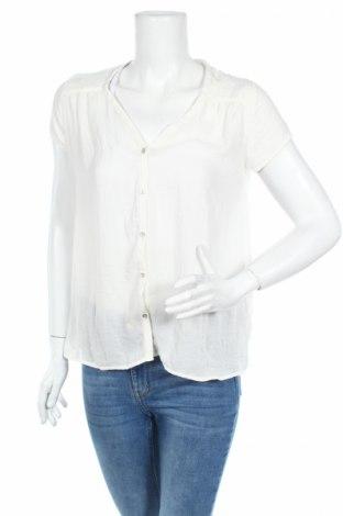 Дамска риза H&M, Размер XS, Цвят Екрю, Полиестер, Цена 4,20лв.
