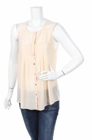 Дамска риза Love21, Размер M, Цвят Бежов, Цена 4,46лв.