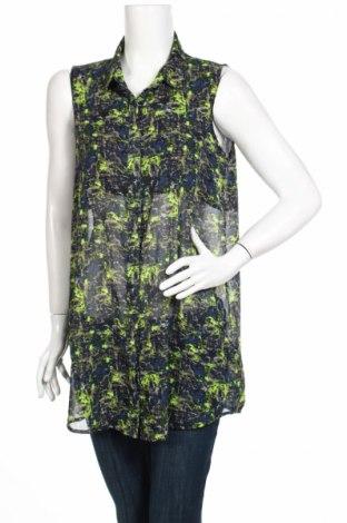 Дамска риза Monki, Размер M, Цвят Многоцветен, Полиестер, Цена 4,20лв.