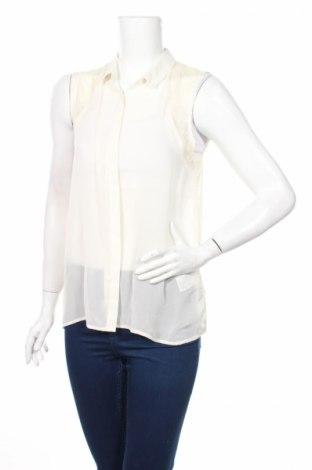 Дамска риза Review, Размер M, Цвят Екрю, Полиестер, Цена 5,06лв.