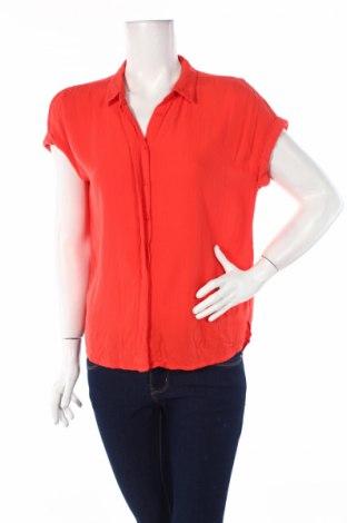 Дамска риза Street One, Размер S, Цвят Червен, Вискоза, Цена 11,60лв.