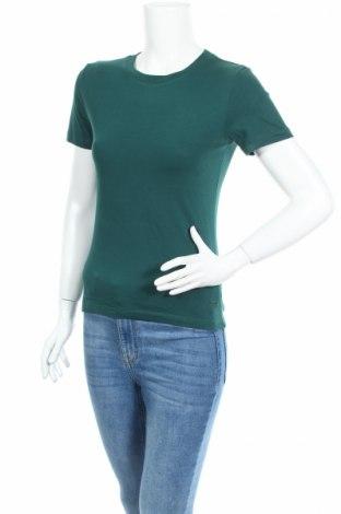 Дамска тениска Diadora, Размер S, Цвят Зелен, Памук, Цена 13,65лв.