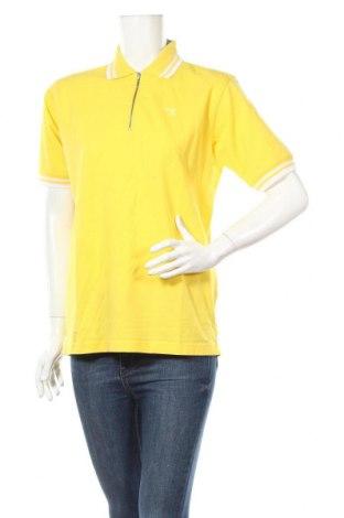 Дамска тениска Diadora, Размер XXL, Цвят Жълт, Памук, Цена 13,65лв.