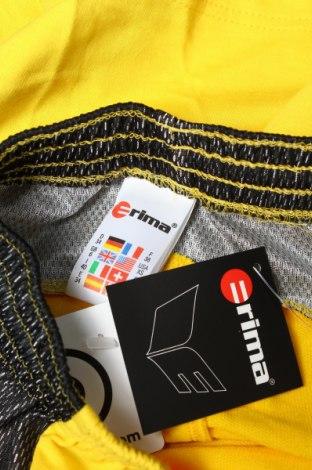 Дамски къс панталон Erima, Размер XS, Цвят Жълт, 70% памук, 30% полиестер, Цена 3,06лв.