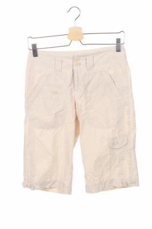 Γυναικείο κοντό παντελόνι Essentiel, Μέγεθος XS, Χρώμα  Μπέζ, Βαμβάκι, Τιμή 3,84€