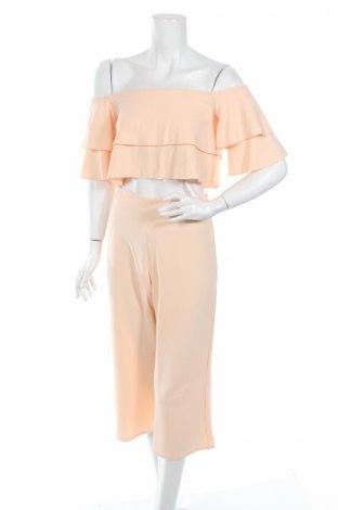 Дамски комплект Boohoo, Размер S, Цвят Розов, 95% полиестер, 5% еластан, Цена 29,50лв.
