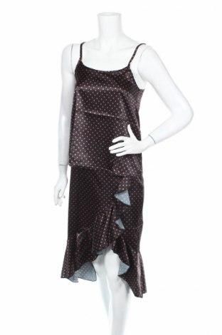 Дамски комплект Boohoo, Размер XS, Цвят Черен, 97% полиестер, 3% еластан, Цена 8,10лв.