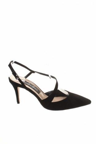 Dámské boty  Sebastian, Rozměr 37, Barva Černá, Přírodní velur , Cena  1627,00Kč