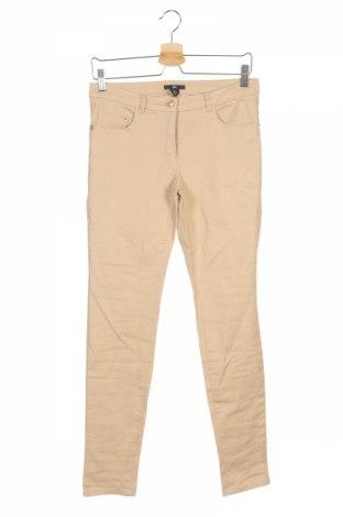 Γυναικείο παντελόνι H&M, Μέγεθος S, Χρώμα  Μπέζ, 97% βαμβάκι, 3% ελαστάνη, Τιμή 2,97€