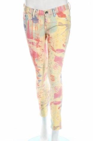 Γυναικείο παντελόνι Pepe Jeans, Μέγεθος M, Χρώμα Πολύχρωμο, Βαμβάκι, πολυεστέρας, ελαστάνη, Τιμή 28,95€