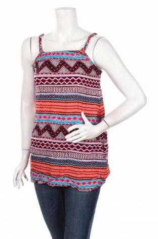 Γυναικείο αμάνικο μπλουζάκι H&M Divided, Μέγεθος XS, Χρώμα Πολύχρωμο, Βισκόζη, Τιμή 2,53€