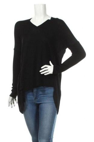 Дамски пуловер AllSaints, Размер XS, Цвят Черен, Вълна, Цена 53,20лв.