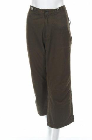 Дамски спортен панталон Cecil, Размер L, Цвят Зелен, 63% памук, 37% полиамид, Цена 3,08лв.