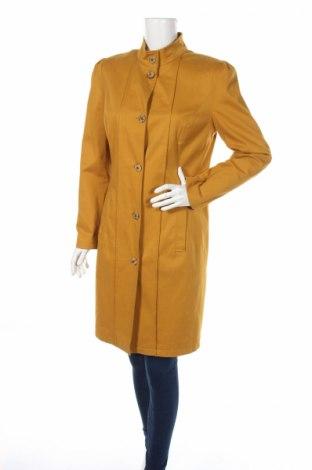 Γυναικείο παλτό, Μέγεθος L, Χρώμα Κίτρινο, 97% βαμβάκι, 3% ελαστάνη, Τιμή 13,74€