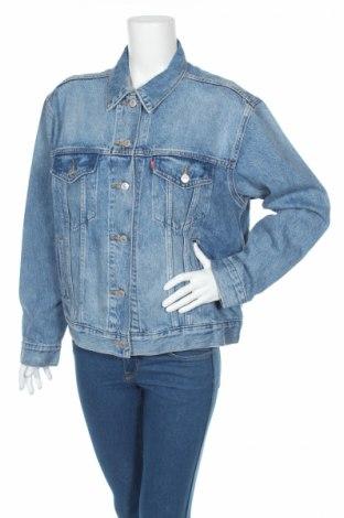 Geacă de femei Levi's, Mărime XL, Culoare Albastru, 79% bumbac, 21% lyocell, Preț 230,13 Lei