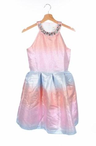 Παιδικό φόρεμα River Island, Μέγεθος 10-11y/ 146-152 εκ., Χρώμα Πολύχρωμο, 80% πολυεστέρας, 20% μεταλλικά νήματα, Τιμή 12,47€
