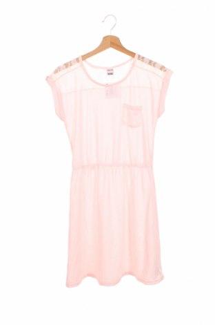 Детска рокля Y.F.K., Размер 15-18y/ 170-176 см, Цвят Розов, Полиамид, Цена 3,12лв.