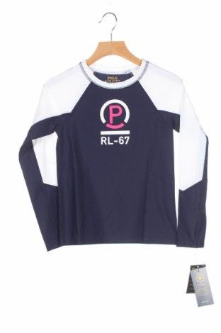 Detská športová blúzka  Polo By Ralph Lauren, Veľkosť 7-8y/ 128-134 cm, Farba Biela, 79% polyamide, elastan, Cena  7,58€