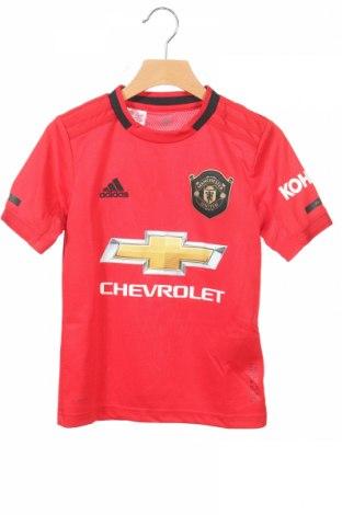 Detské tričko Adidas, Veľkosť 7-8y/ 128-134 cm, Farba Červená, Polyester, Cena  7,04€