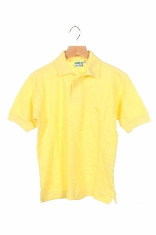 Παιδικό μπλουζάκι Diadora, Μέγεθος 7-8y/ 128-134 εκ., Χρώμα Κίτρινο, Βαμβάκι, Τιμή 4,69€