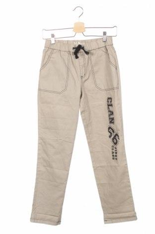 Dziecięce spodnie John Baner, Rozmiar 11-12y/ 152-158 cm, Kolor Beżowy, Bawełna, Cena 27,60zł