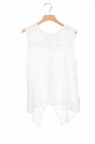Детски потник H&M L.o.g.g, Размер 15-18y/ 170-176 см, Цвят Бял, Вискоза, Цена 12,29лв.