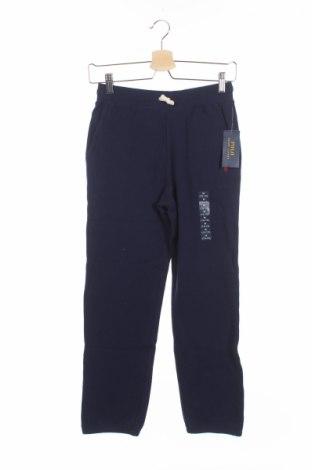 Dziecięce spodnie sportowe Polo By Ralph Lauren, Rozmiar 11-12y/ 152-158 cm, Kolor Niebieski, 87% bawełna, 13% poliester, Cena 66,38zł